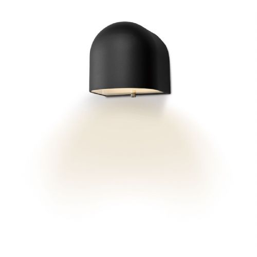 Egham Wall Light Matt Black LED IP44 (double insulated) BXEGH1522-17